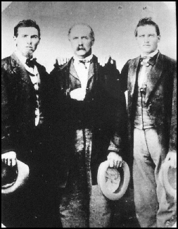 Picture of William, Heber and Don Huntington